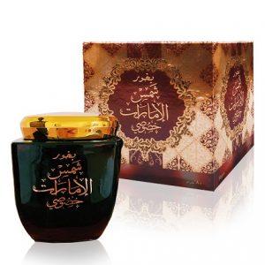 Encens Shams Al Emarat Khususi Ard Al Zaafaran 80gr Bakhoor Shamsalemaratkhususi