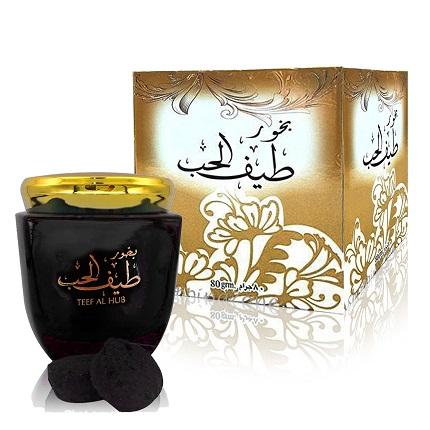 Encens Teef Al Hub Ard Al Zaafaran 80gr Bakhoor Teefalhub