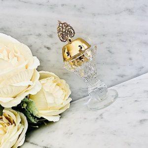 Encensoir cristal AL ARAB GOLD ARD AL ZAAFARAN parfumerie oriental Bakhoor encens parfum d'intérieur