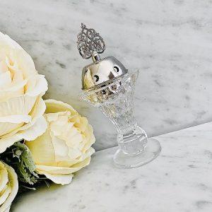 Encensoir cristal AL ARAB SILVER ARD AL ZAAFARAN parfumerie oriental Bakhoor encens parfum d'ambiance