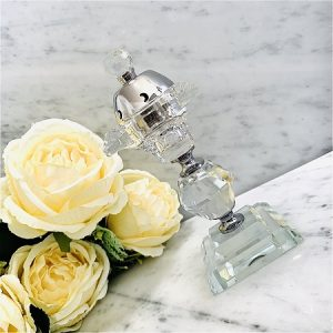 Encensoir crital Oriental ZAYED SILVER ARD AL ZAAFARAN parfum d'ambiance bakhoor encens