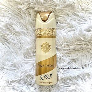 Oud Mood Deodorant Unisexe 200ml Ard Al Zaafaran Parfum oriental