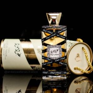 Oud Mood perfume Lattafa eau de parfum 100 ml ard al zaafaran oud