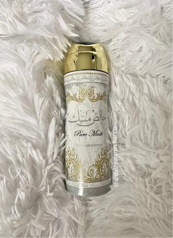 Pure Musk Déodorant Lattafa 200ml ardalzaafaran