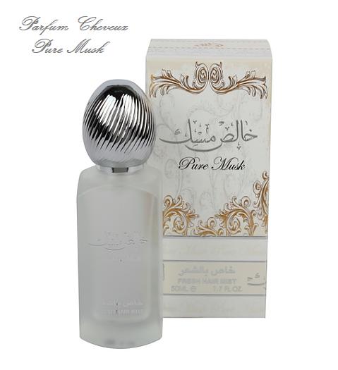 Pure Musk Parfum cheveux 50ml ard al zaafaran