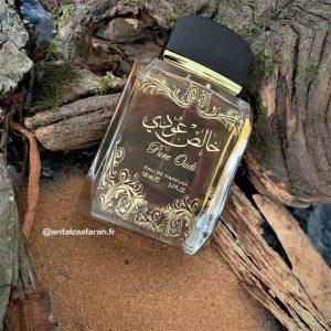 Pure Oudi Parfum oud épice. Lattafa