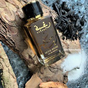 Raghba Wood Intense Lattafa parfum oriental