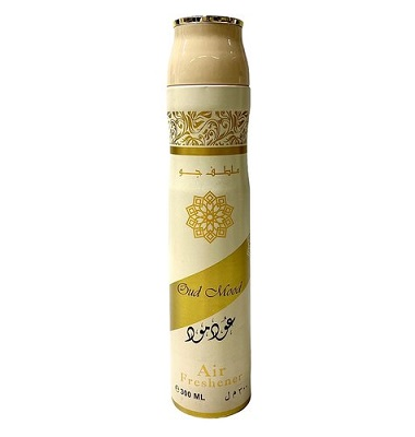 Oud Mood air freshener désodorisant Oud Mood Lattafa